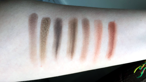 morphe 35o swatches fourth row