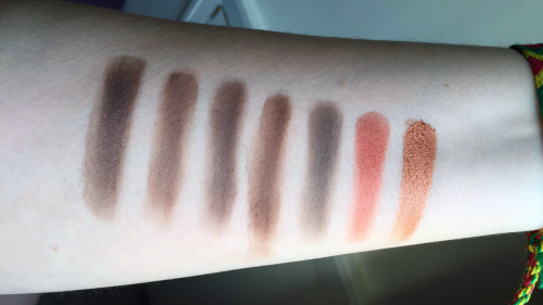 morphe 35o swatches fifth row