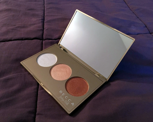 becca cosmetics jaclyn hill champagne glow palette pearl champagne pop bronzed copper
