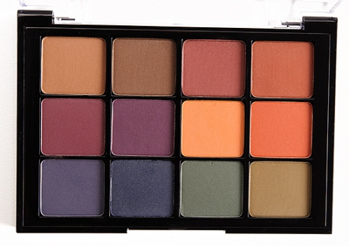 viseart dark matte eyeshadow palette