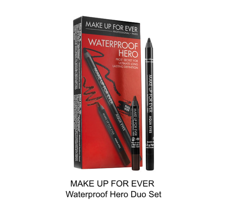 make up for ever waterproof hero duo set