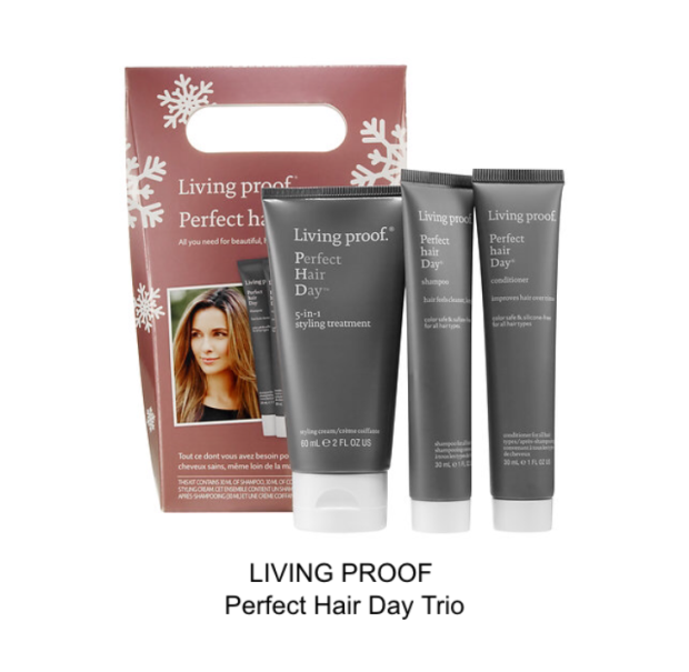 living proof perfect hair day trio