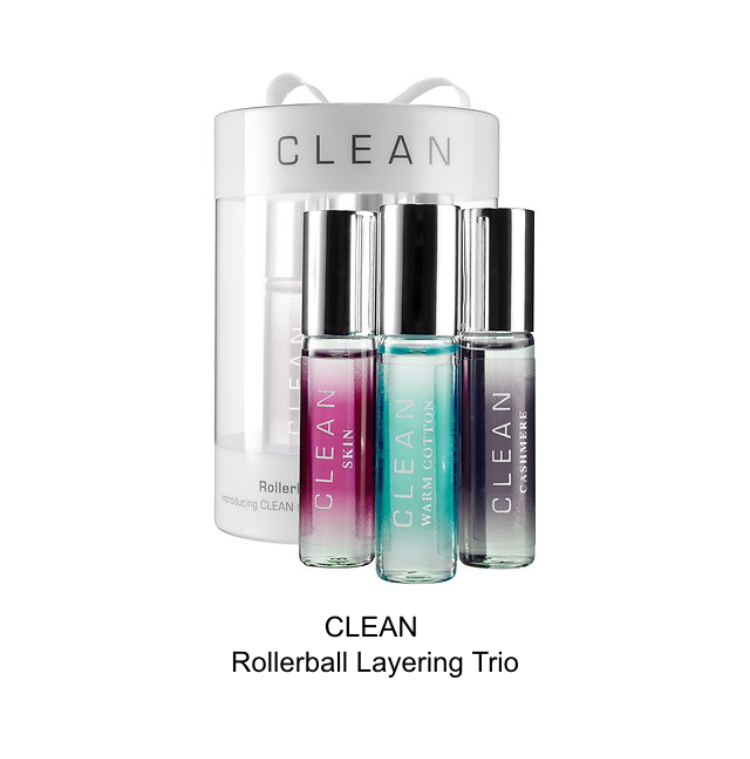clean rollerball layering trio
