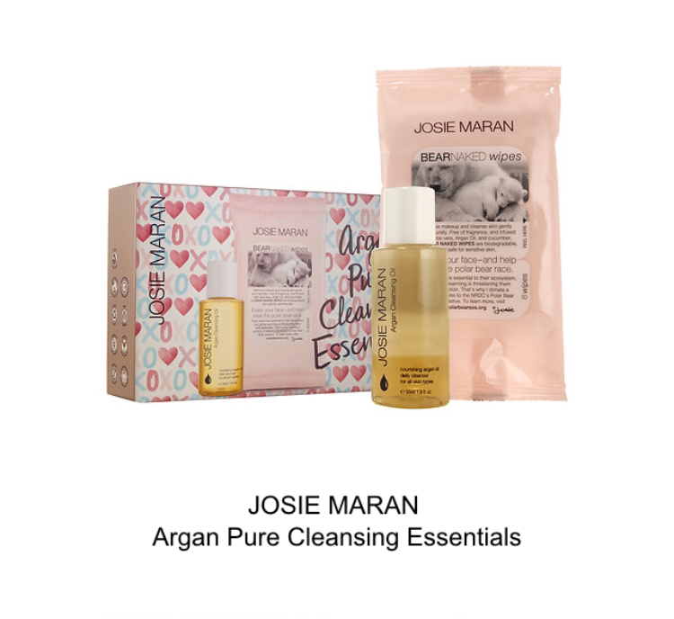 josie maran argan pure cleansing essentials