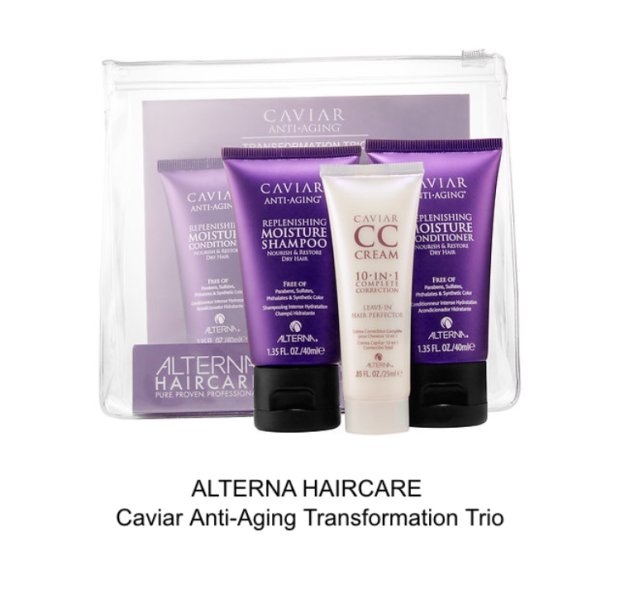 alterna haircare caviar anti-aging transformation trio