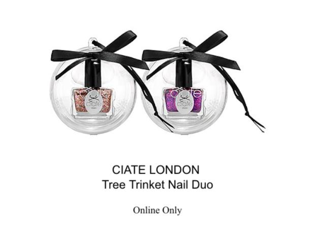 ciate london tree trinket nail duo