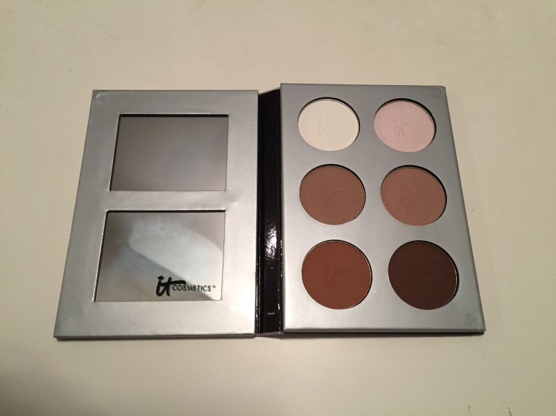 inside of it cosmetics my sculpted face palette