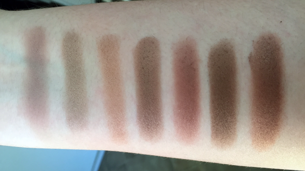 morphe 35t palette swatches row 1