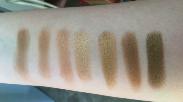 morphe 35t palette swatches row 2