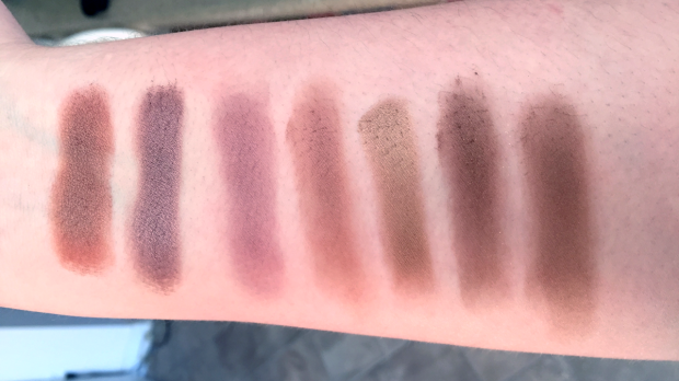 morphe 35t palette swatches row 3