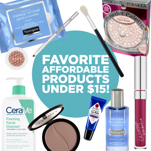 favorite affordable products under fifteen dollars