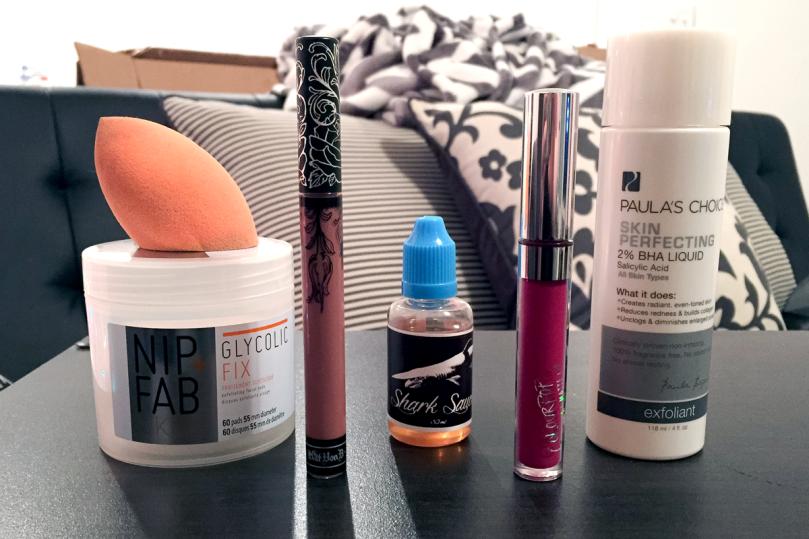november favorites skincare and makeup