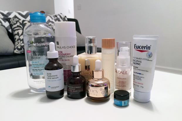 winter daytime skincare routine dry skin