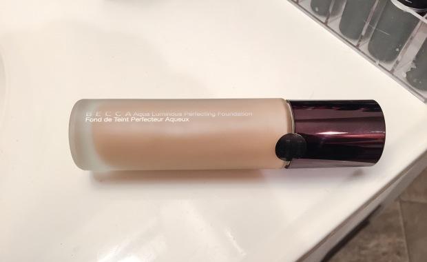 becca aqua luminous perfecting foundation bottle