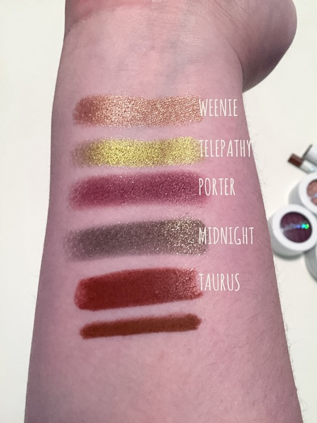 where the night is collection swatches weenie porter telepathy midnight taurus
