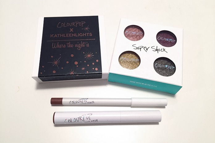 colourpop kathleen lights where the night is collection