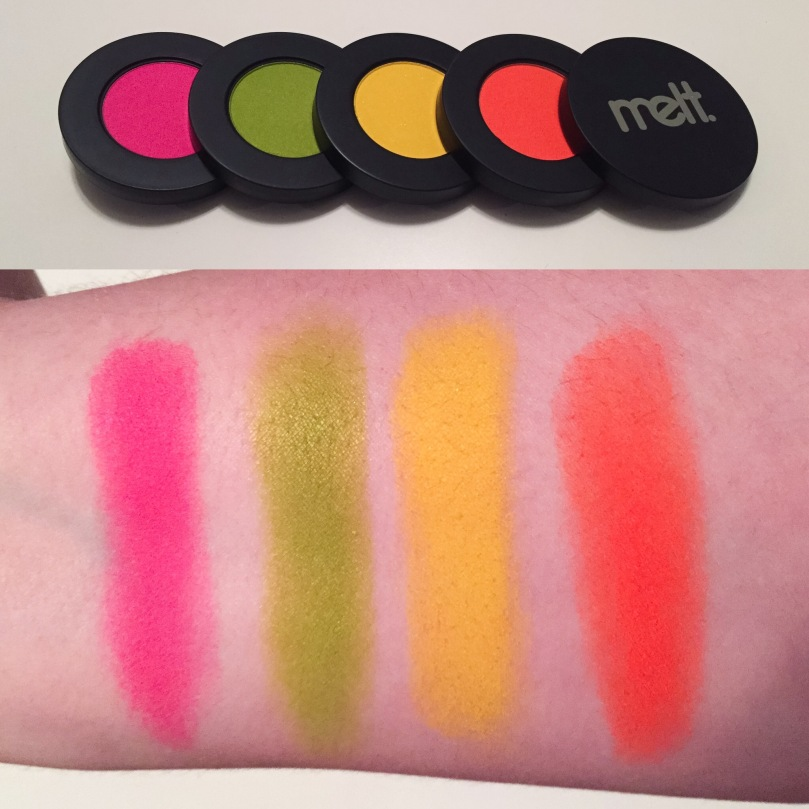 melt radioactive stack swatches