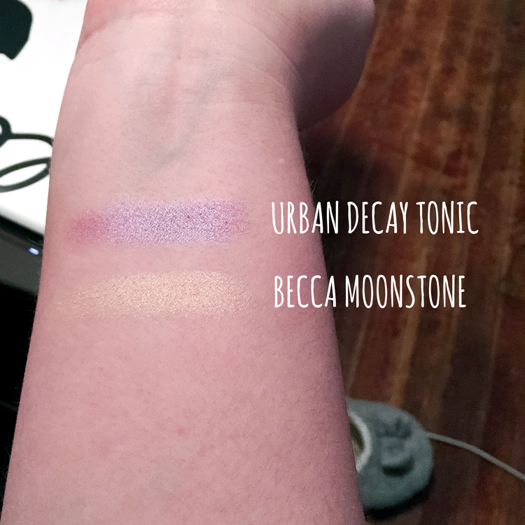 urban decay becca swatches