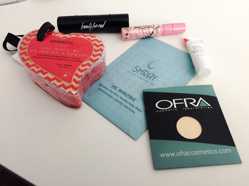 february boxycharm products