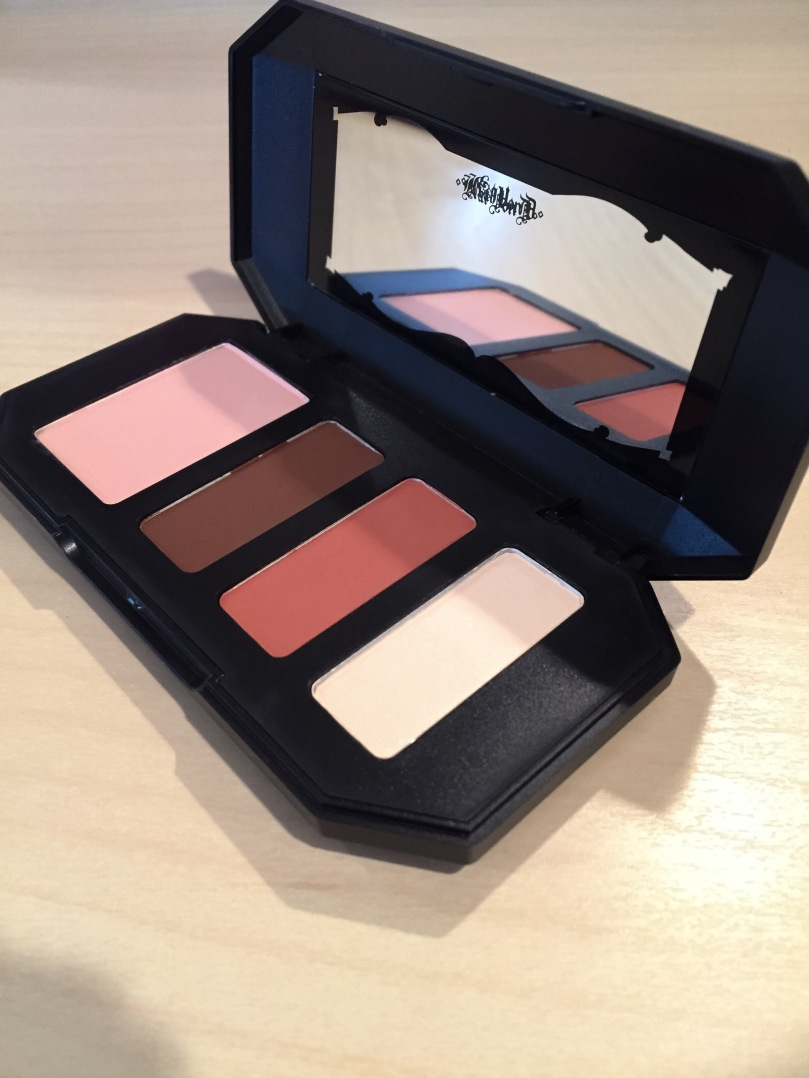 kat von d shade and light eyeshadow rust quad