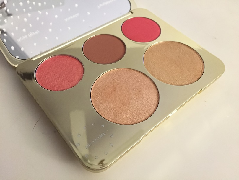 becca cosmetics jaclyn hill champagne collection face palette pans
