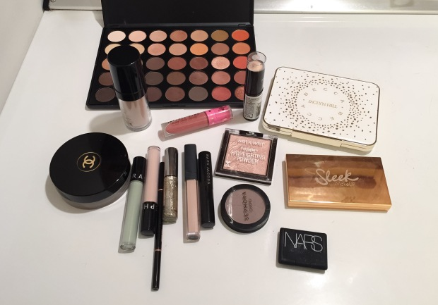products used for greed makeup