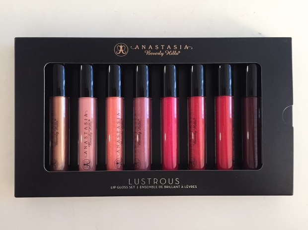 anastasia beverly hills lustrous lip gloss set