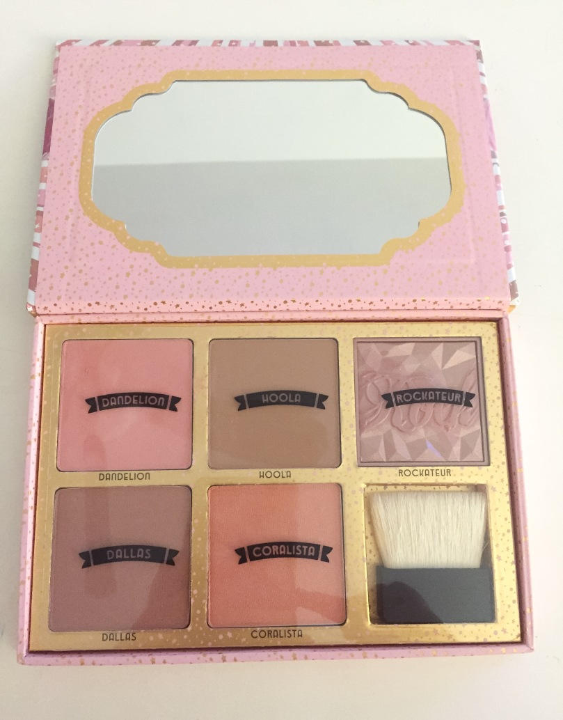 benefit cheekathon palette inside