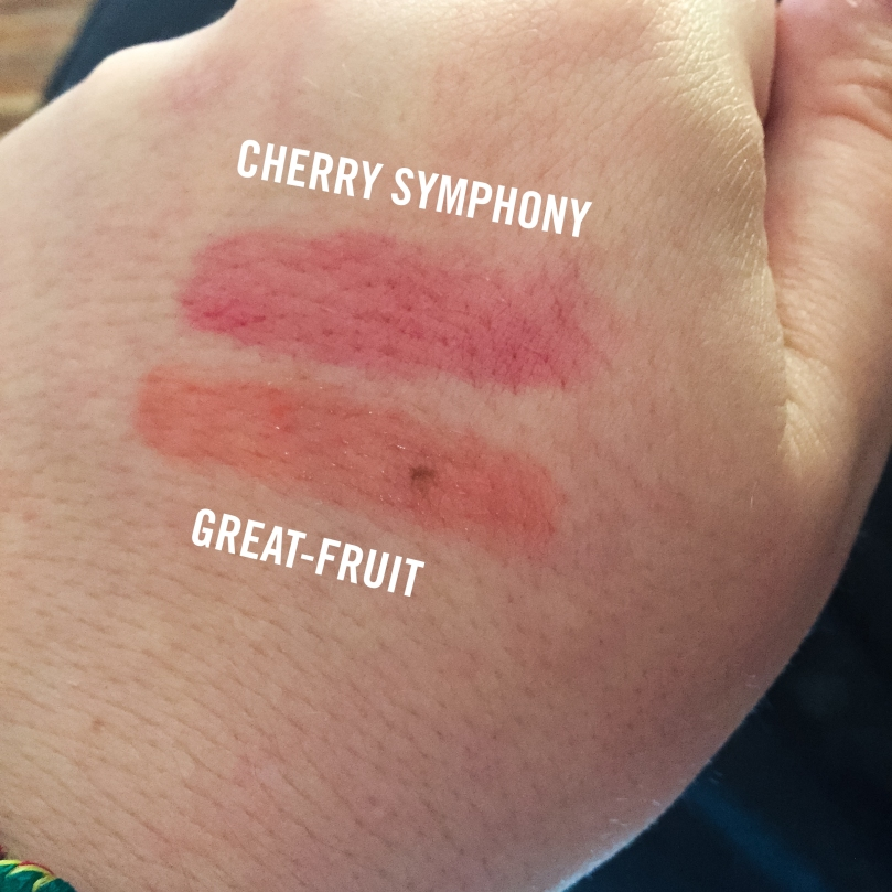 lancome juicy shakers great-fruit cherry symphony swatches
